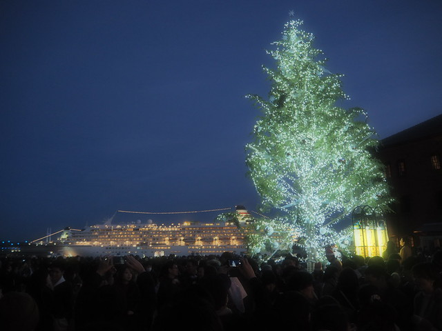 Yokohama City Night at Christmas Eve 2016 (18)
