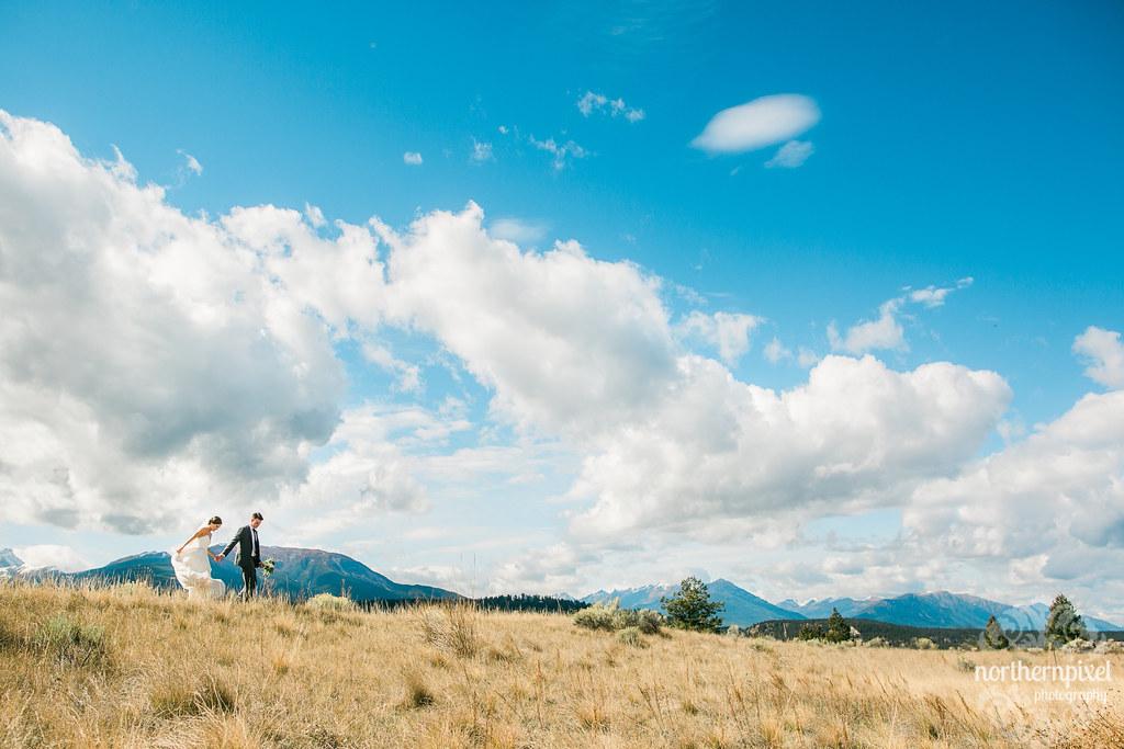 Wedding Photos at Eagle Ranch Resort Invermere BC