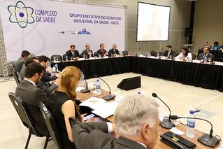12ª Reunião do GrupoExecutivo do Complexo Industrial da Saúde - GECIS. Brasília, 08/12/2016. Foto: Rodrigo Nunes/MS | por Ministério da Saúde