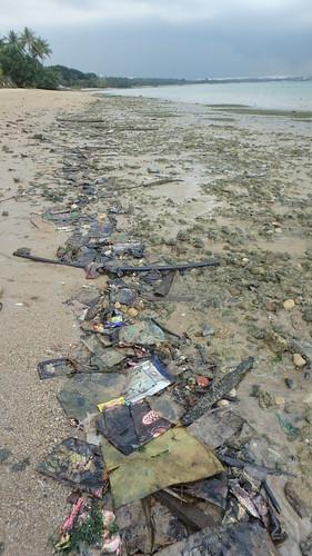 Pasir Ris, Loyang after oil spill in Johor Strait, Jan 2017