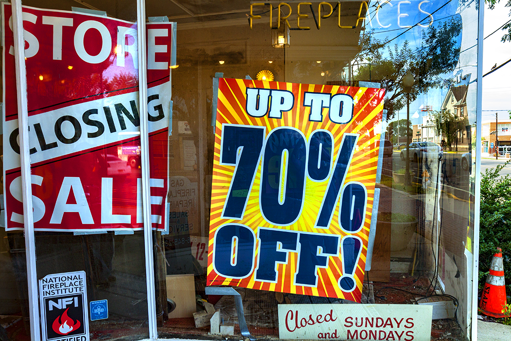 STORE CLOSING SALE UP TO 70 percent OFF--Woodbury
