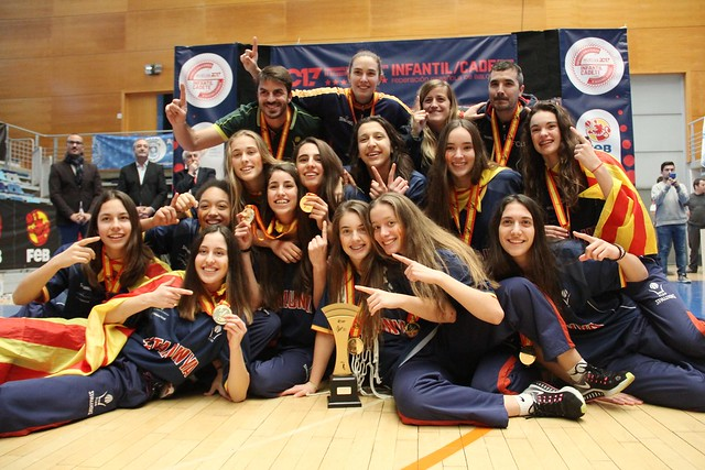 Campionat d'Espanya Cadet i Infantil 2017