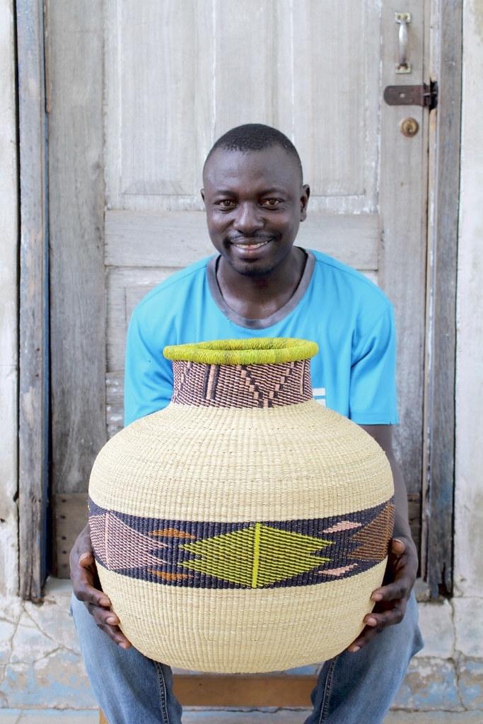 storage basket handwoven