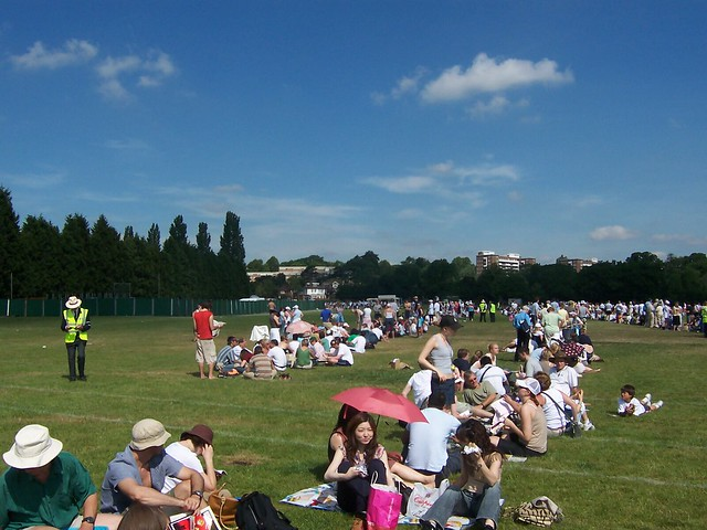 Wimbledon Queues