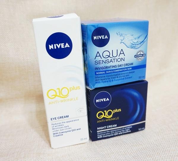 秋冬好用平價之選 ❤ NIVEA Q10Plus 抗皺修護系列