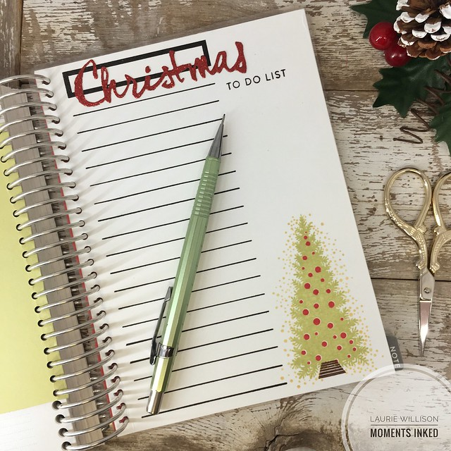 Christmas lists for Moments Inked