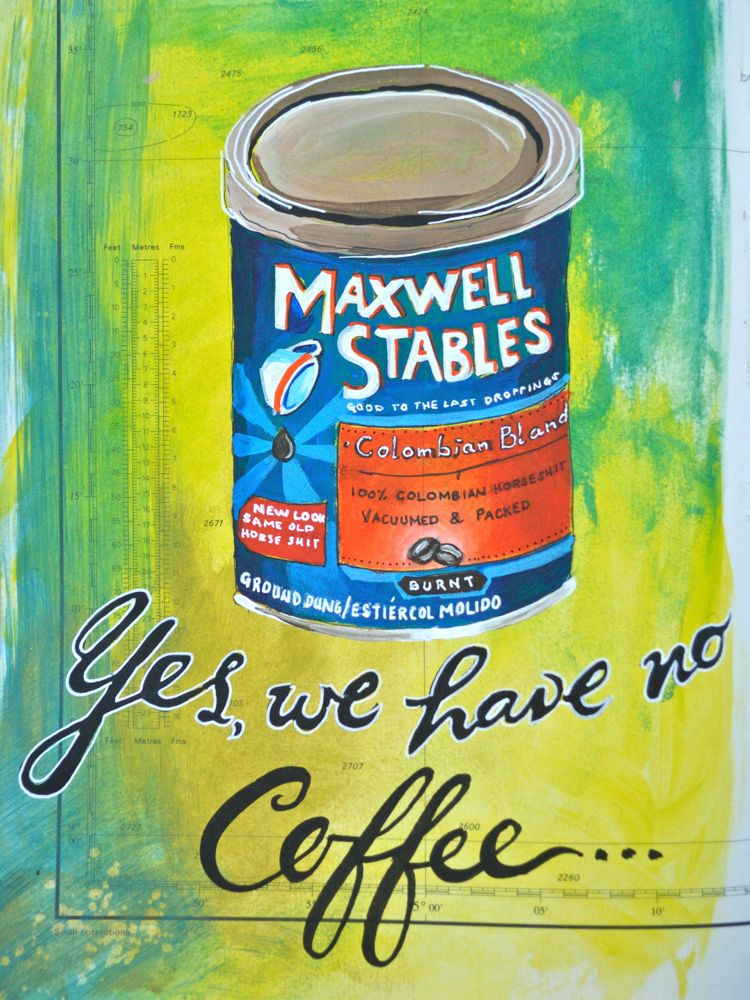 maxwell stables horseshit...