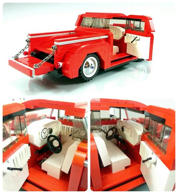 1948 Ford F1 - interior