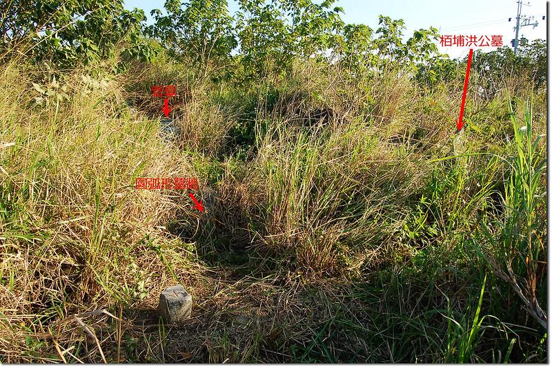 火燒厝土地調查局圖根點點位相對位置 1