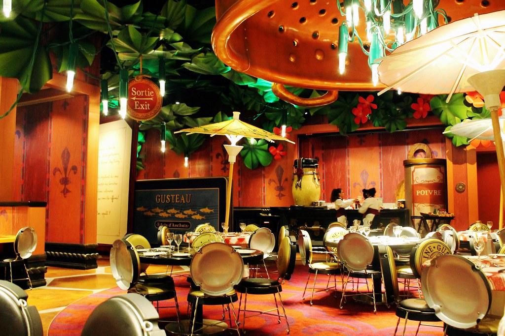 Drawing Dreaming - 10 razões para visitar a Disneyland Paris - Bistrot Chez Rémy