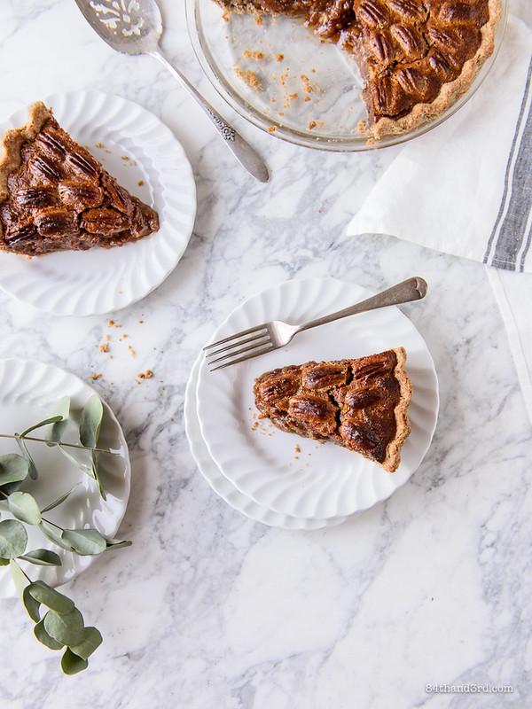Healthier Pecan Pie