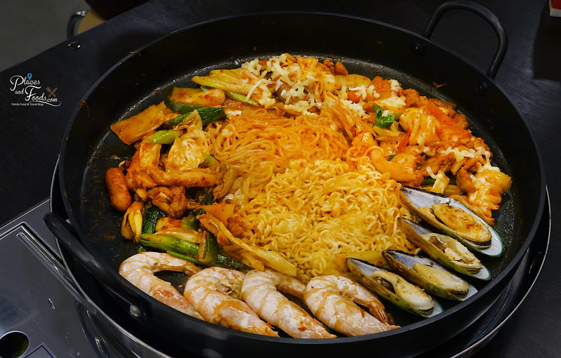 yoogane seafood and chicken galbi