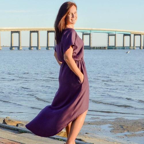 designer stitch gypsy tunic dress