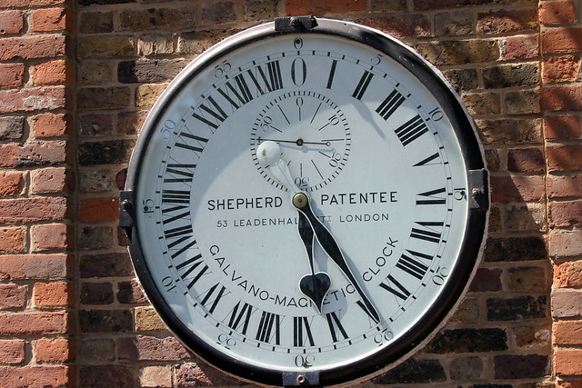 24 Hour Clock at Greenwich