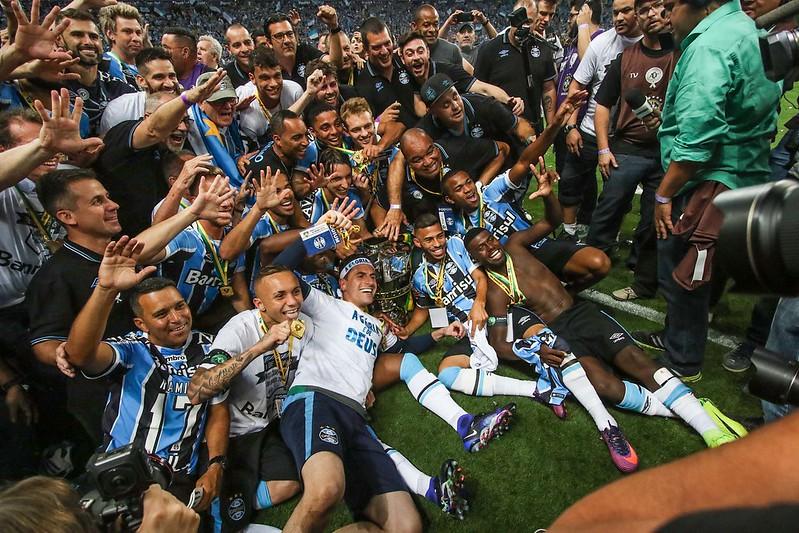 Grêmio campeão da Copa do Brasil 2016