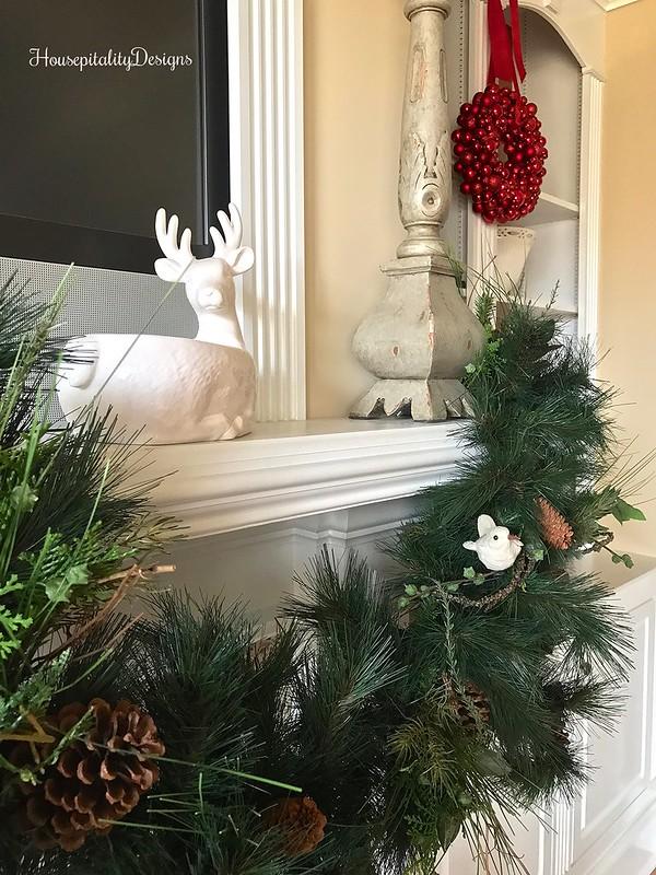 Mantel-Christmas-Garland-Housepitality Designs