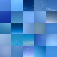 My pureblue onesky mosaic | by hchalkley