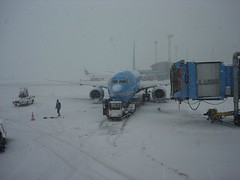 Copenhagen airport in winter | by Soctech