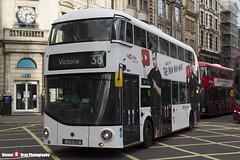 Wrightbus NRM NBFL - LTZ 1213 - LT213 - YouTube DT - Victoria 38 - Arriva London - London - 161203 - Steven Gray - IMG_9006