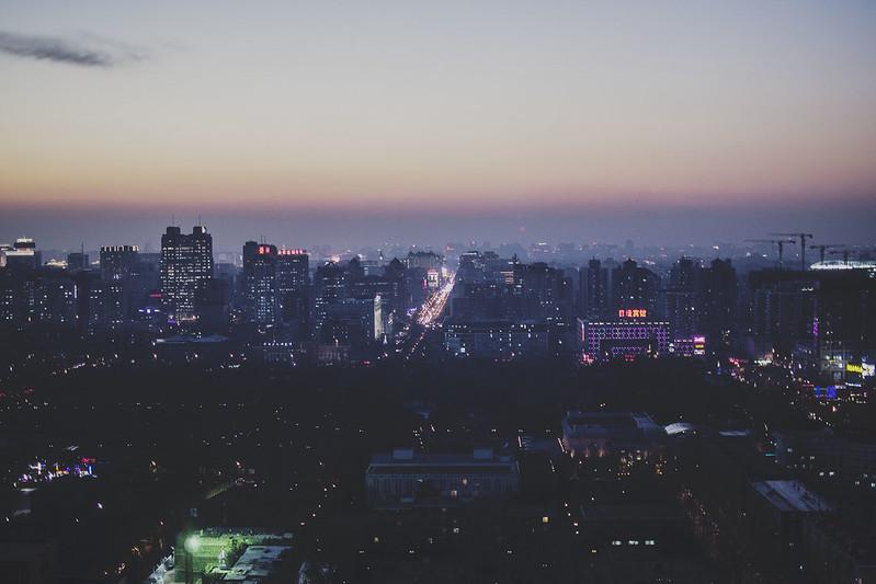 Wintery Beijing