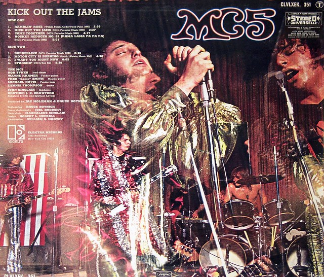 "MC5 - Kick Out the Jams France 1969 12"" vinyl LP"