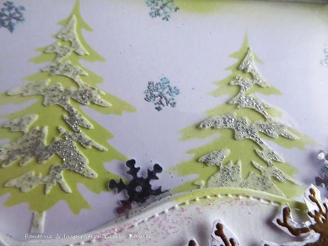 Weihnachtliche Schüttelkarte