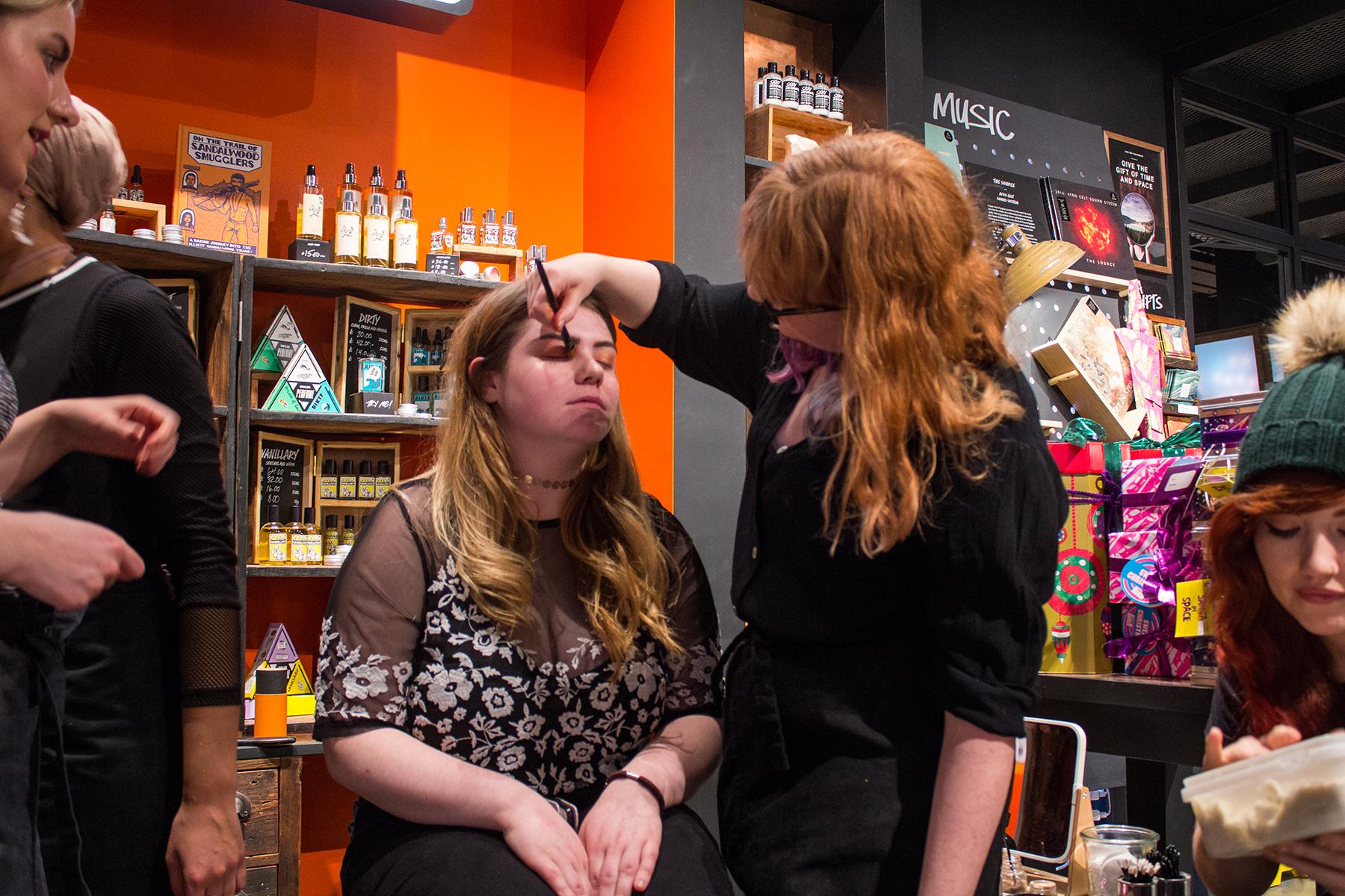 LUSH Arndale Beauty School Event // #9 of Blogmas '16