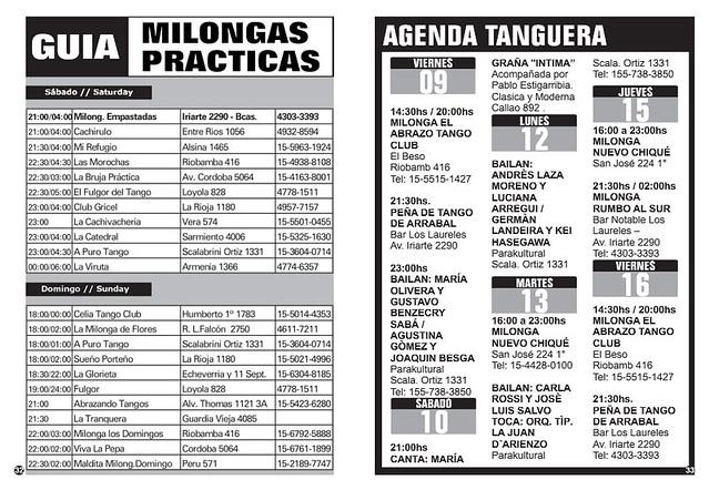 Revista Punto Tango 122 Diciembre 2016 - 6