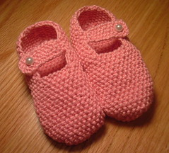 Pink booties | by Aine D