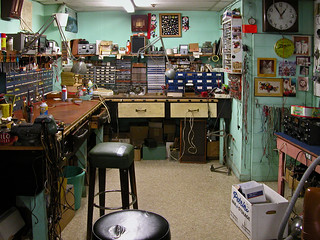 Grandpa's Radio and TV Repair Shop | by Randy Wentzel Photography