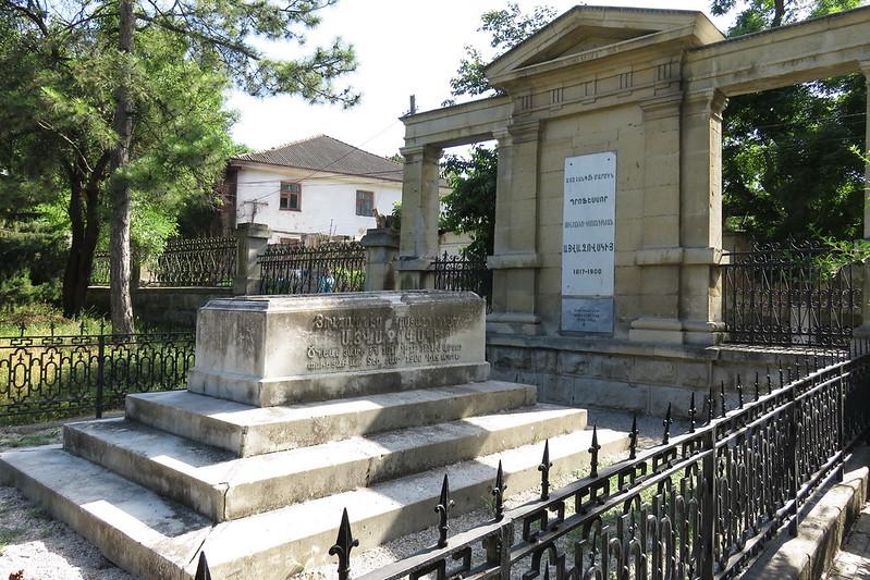 Feodosia, S. Sargis, Ayvazovski's tomb, 2016.06.24 (04)