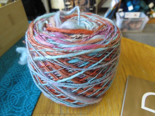 First Handspun Project