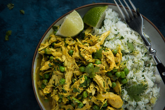 Chicken Curry with Cilantro Lime Rice | Will Cook For Friends