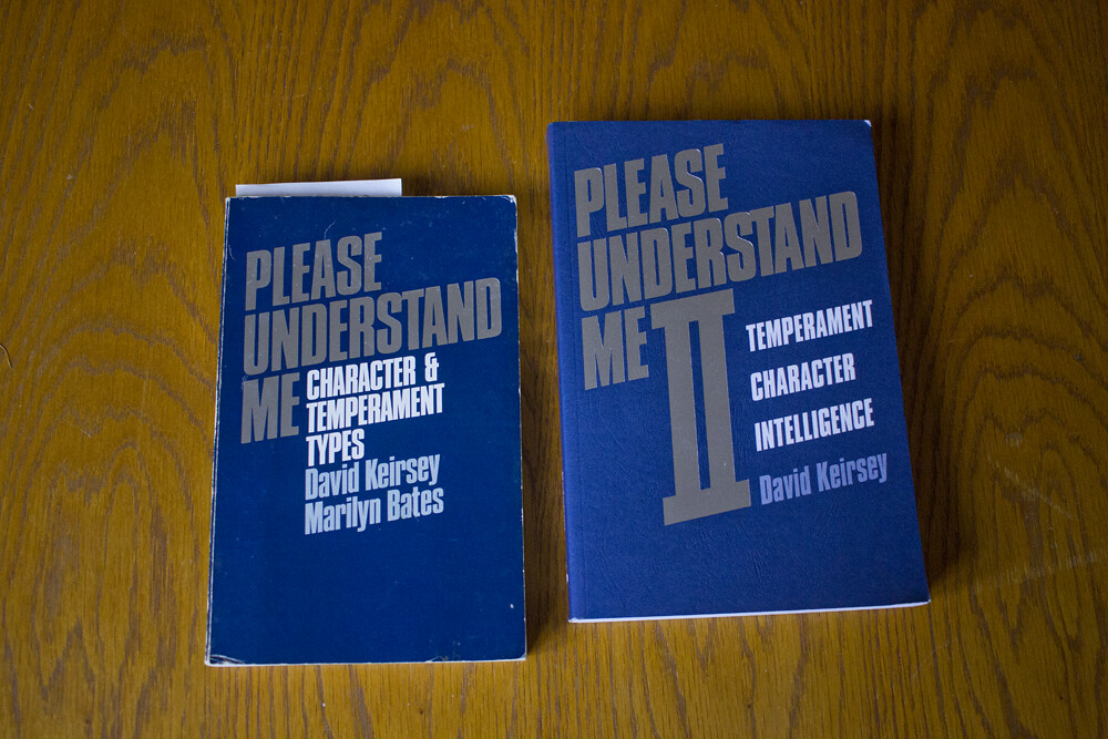 David Keirsey, MBTI, personality types, please understand me, please understand me books,