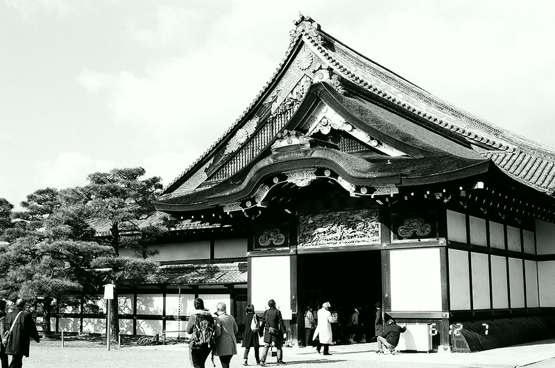 The Nijojo castle (二条城)