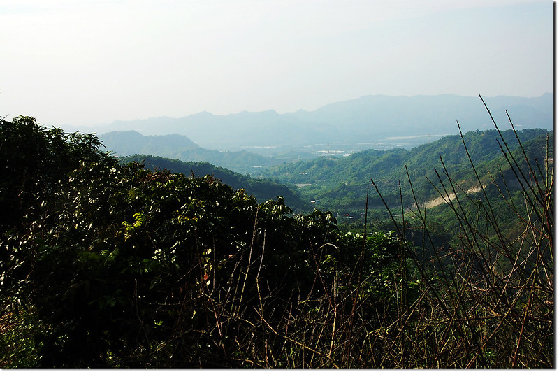 新寮山山腰西北展望