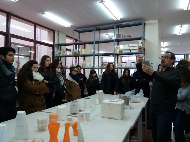 Visita Escuela de Cerámica de Manises