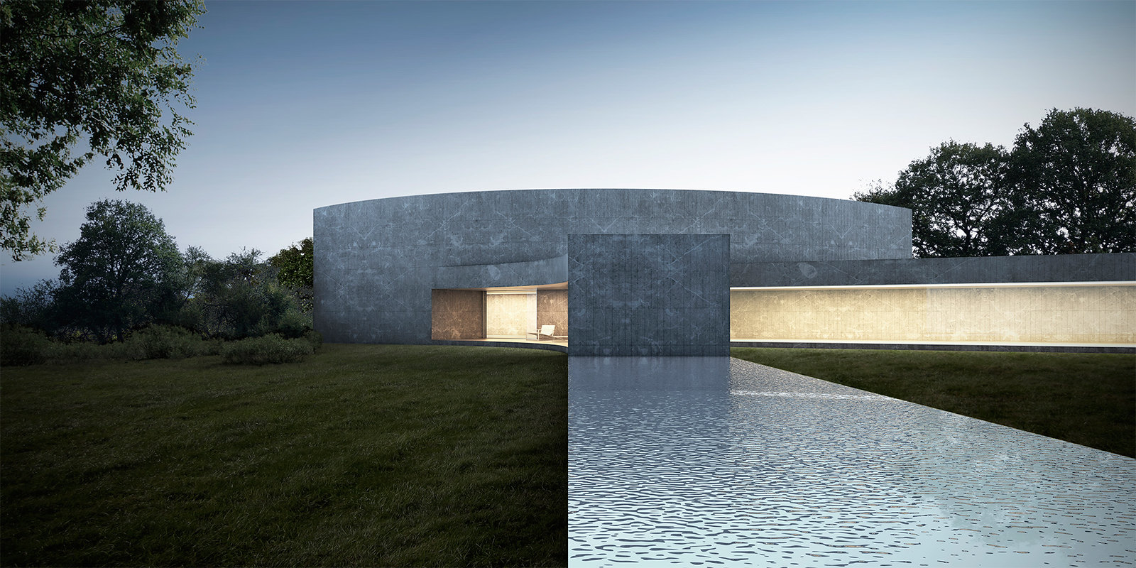 Spain architecture. House of the seven gardens 005