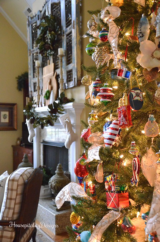 Christmas Tree-Mantel-Housepitality Designs