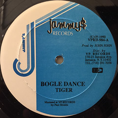 TIGER:BOGLE DANCE(LABEL SIDE-A)