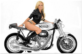 Norley+Cafe+Racer+Sportster+model
