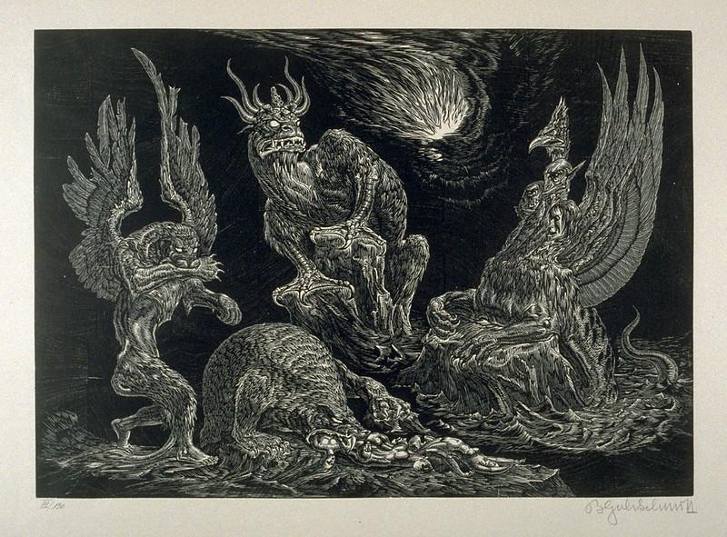 Bruno Goldschmitt - Daniel's Dream, 1910-20