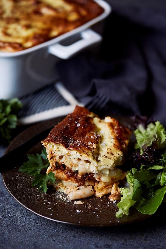 Gluten-free Pastitsio (Greek-Style Baked Pasta / Lasagna)