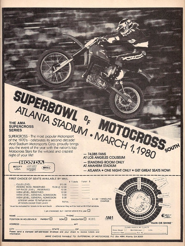 Supercross Atlanta 1980