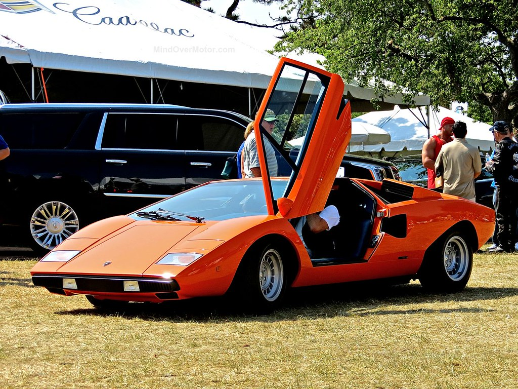 Lamborghini Countach Greenwich 2