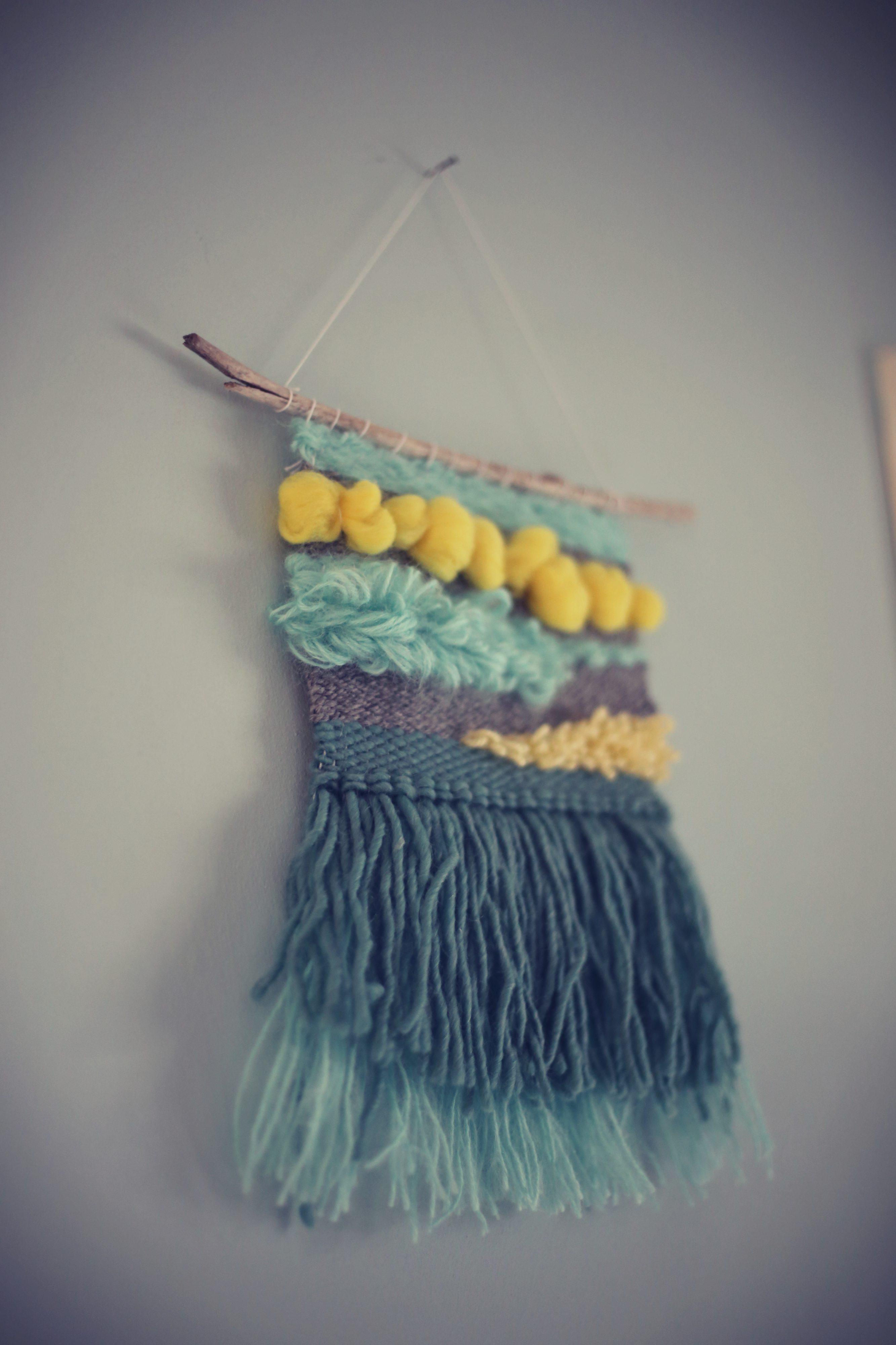 yarn wall hanging decor