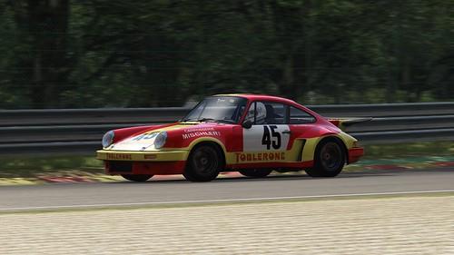 Porsche 911 Carrera RSR - Porsche Club Romand - Bernard Cheneviere - European GT 1974 (3)
