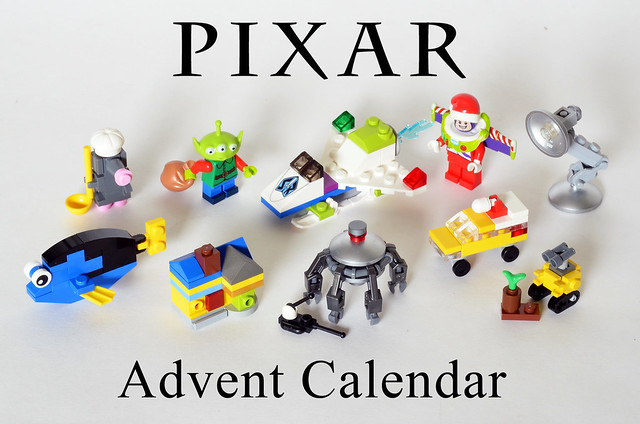 moc pixar advent calendar lego licensed eurobricks forums. Black Bedroom Furniture Sets. Home Design Ideas