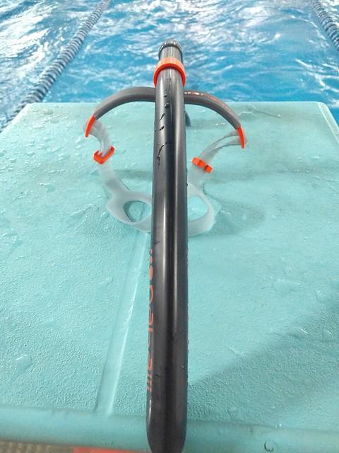 Tubo frontal natación para mejorar técnica: review del tubo Nabaiji