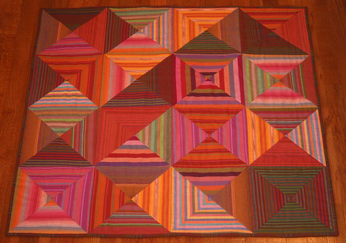 Completed quilt - Optical Squares | by Rose Family Photostream